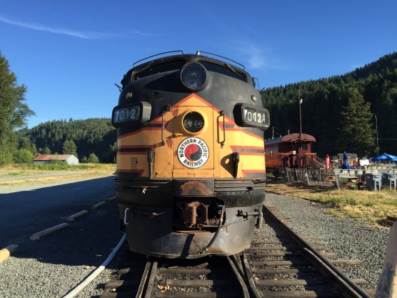 """Northern Pacific #7012A, the train from """"Runaway Train"""" starring Jon Voight."""