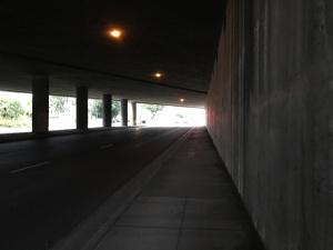 Lots of creepy underpasses around here.