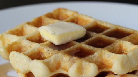 This is a default waffle pic (I forgot to take a pic of a final product it was so good, that will come).