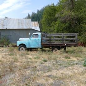 abaondoned truck