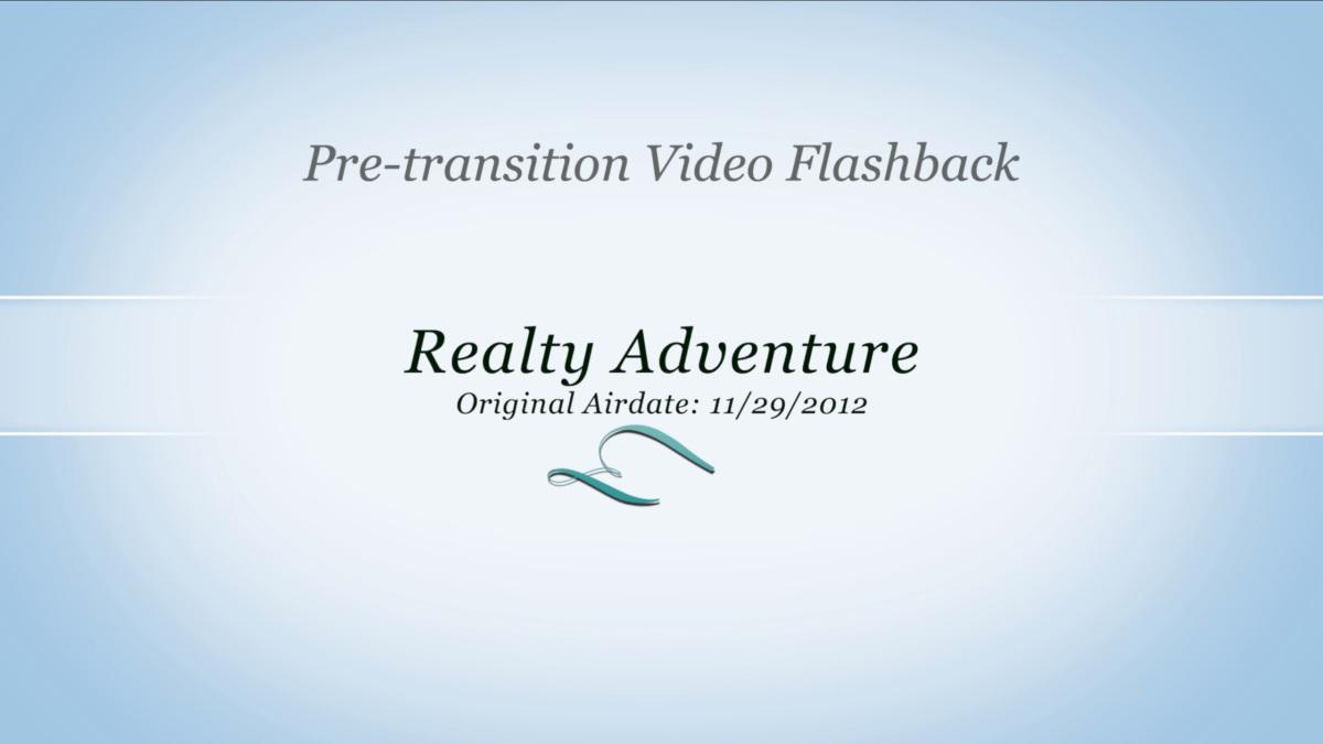 2012-11-29 Pre Transition: RealtyAdventures
